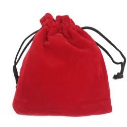 Bolsa de Veludo de Qualidade - Vermelho 10x12cm
