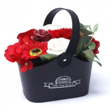 Pequenos Buquês de Flores de Sabão - Vermelhos