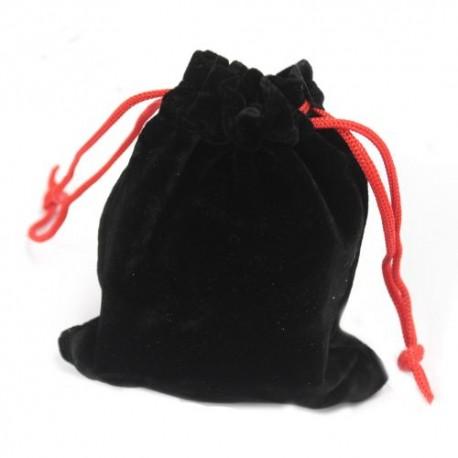 Bolsinhos de Veludo de Qualidade - Negro 10x12cm