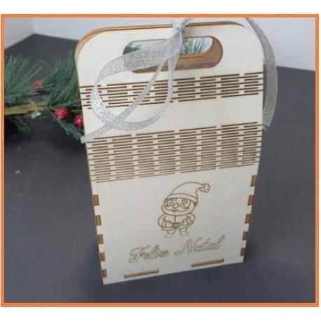 Caixa p/ chocolates Choupo 3MM 80x70mm
