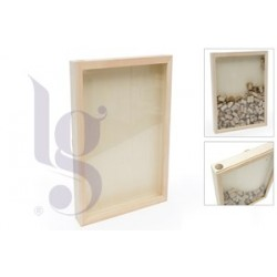 FRAME W/SLOT FOR CORKS 35X45x5.5CM