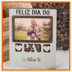 MOLDURA FELIZ DIA DO PAI (28x19Cm)