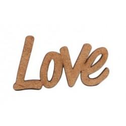 PALAVRA LOVE MDF