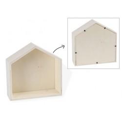SHELF HOUSE SHAPE 16.5X7X16.5CM