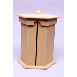 BOX F/KITCHEN PAPER ROLL 20X20X26.5CM