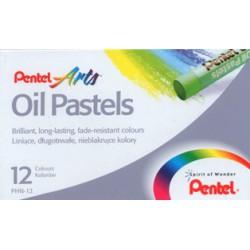 Pastel Oleo Pentel PHN-12