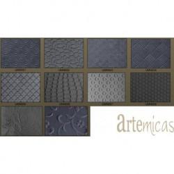 PLacas Texturada metálica