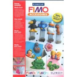 Blister Fimo Moldes M. Animais Divers.