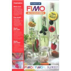 Blister Fimo Moldes M. Vegetais