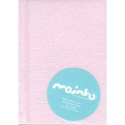 Livro 16x21 reciclado 100% algodão Fantastico rosa bebe