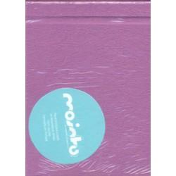 Caderno reciclado Lilas - 21x16
