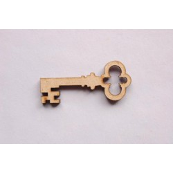 4 CHAVES 6X2.6X0.3CM MDF