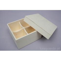BOX 4 DIV. 16.5X16.5X8CM