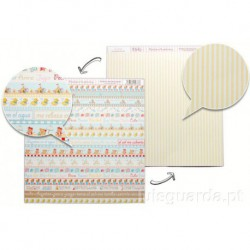 PAPER SCRAPBOOKING 30.5X30.5CM FRONT/BACK SCP-007