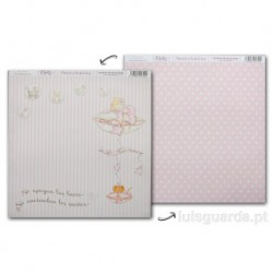 PAPER SCRAPBOOKING 30.5X30.5CM FRONT/BACK SCP-014