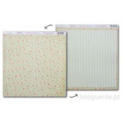PAPER SCRAPBOOKING 30.5X30.5CM FRONT/BACK SCP-026