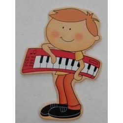 4 MENINOS PIANO 7.5CM PINT