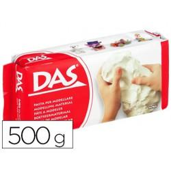 Pasta para modelar das 500 grs branco. DAS