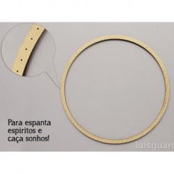 3 CIRCULOS C/FUROS D.30x0.3cm MDF P/ ESPANTA ESPIRITOS  (C. Sonhos )