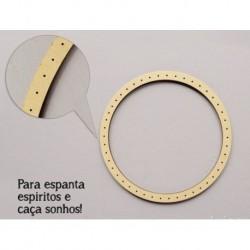 6 CIRCULOS C/FUROS D.15x0.3cm MDF P/ ESPANTA ESPIRITOS (C. Sonhos )