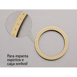 6 CIRCULOS C/FUROS D.10x0.3cm MDF P/ ESPANTA ESPIRITOS (C. Sonhos )