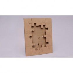 FRAME PUZZLE 21x26.3x0.25CM MDF
