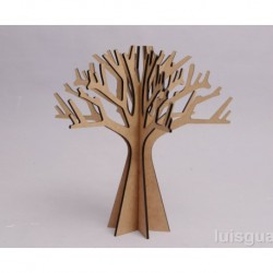 TREE 39X40X0.5CM MDF
