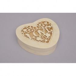 HEART BOX 19.5X18X5.5CM