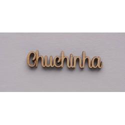 4 PALAVRAS CHUCHINHA 5.6X1.2X0.3CM MDF