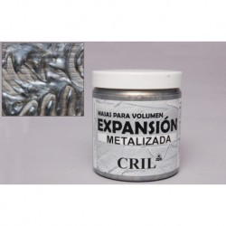 TEXTURE PASTE SILVER METALLIC 250GRS