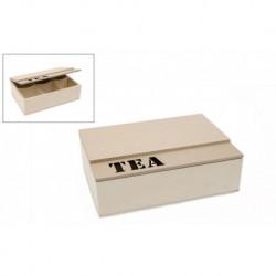 CAIXA 23X16X7CM C/TAMPA TEA