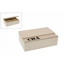 CAIXA 23X16X7CM C/TAMPA CHA