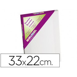 Tela de pintura liderpapel, 33 x 22 cm.