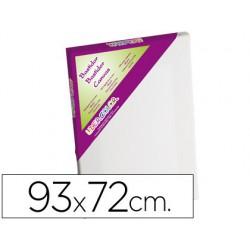 Tela de pintura lidercolor 30f algodao 100% molldura madeira 93x72 cm.