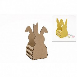 KIT RABBIT BOX 9X8.5X17.5X0.3CM MDF