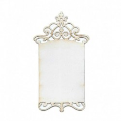 2 DECORATIVE ELEMENT 5.5X10CM DECO-06 FILIGRANA