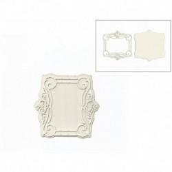 DECORATIVE ELEMENT 10.5X10.5CM DECO-33G FILIGRANA
