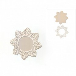 DECORATIVE ELEMENT D.10.5CM DECO-39G ESTRELA FILIGRANA